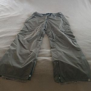 Awesome army green snow pants